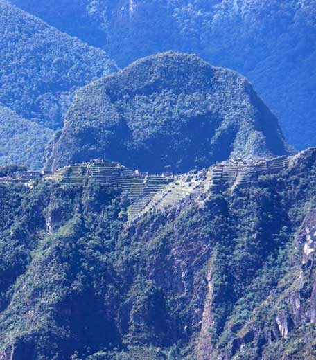 View of Machu Picchu from Llactapata
