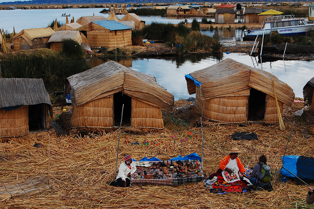Day 6: PUNO: OVERNIGHT IN UROS - FLOATING ISLANDS IN TITICACA LAKE