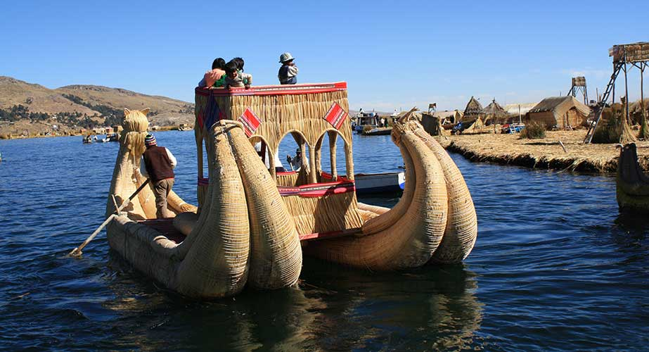 Day 5: PUNO: FULL DAY TO TITICACA LAKE (UROS & TAQUILLE ISLANDS)