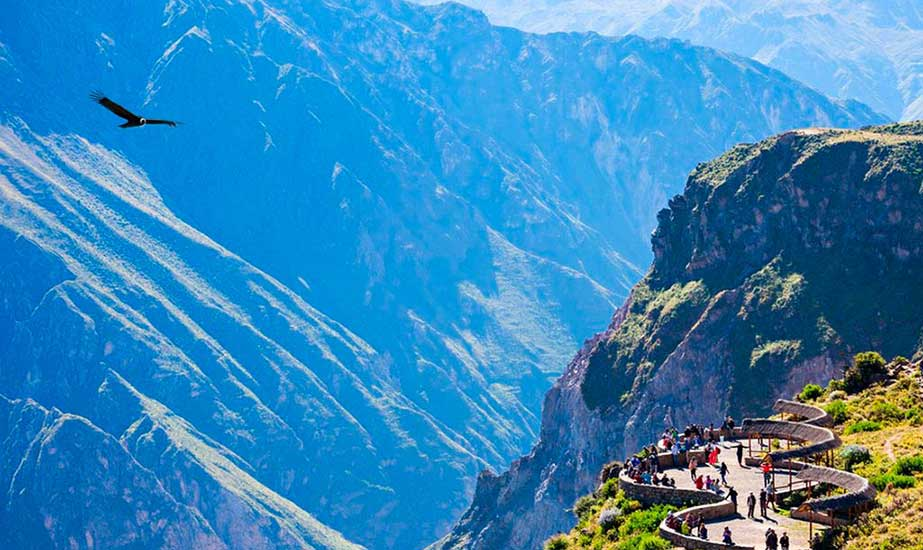 Day 8: COLCA CANYON - CRUZ DEL CONDOR
